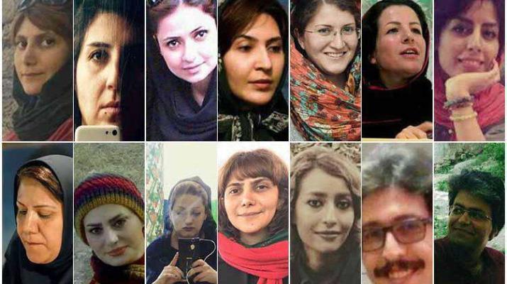 ifmat - 80 women detained on international women day in Iran