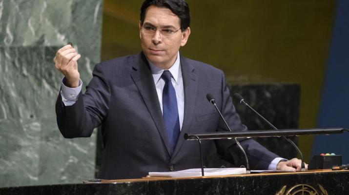 ifmat - Danon Decries UN hould stop Iran influence in the Middle East