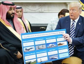 ifmat - Trump and Saudi prince assail Iran over support for Yemeni rebels