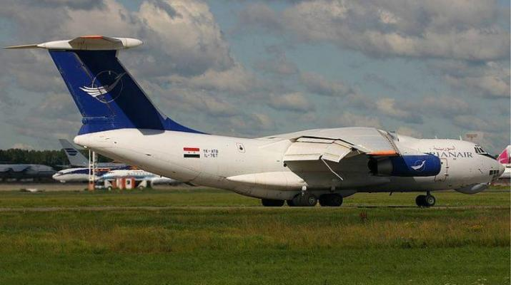 ifmat - Large Syrian plane full with weapons travels from Iran to Idlib airbase