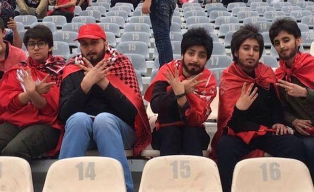 IFMAT_Iranian girls must put fake beards, dress up as men and sneak into football stadium to watch their favourite team