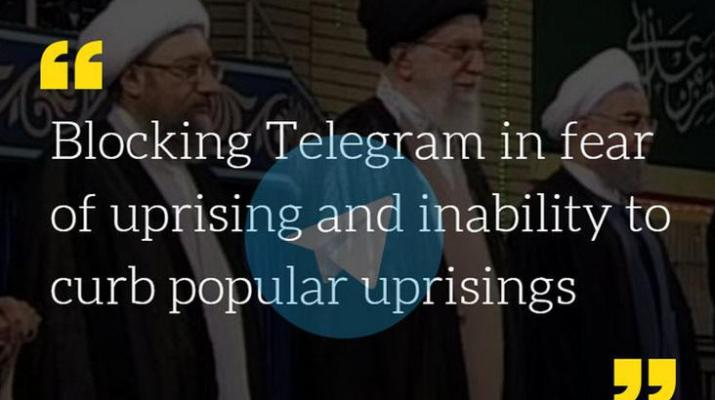 ifmat - Iran blocked Telegram in fear of uprising and inability to curb popular uprisings