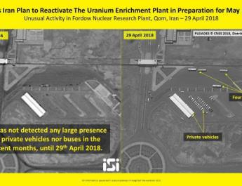 ifmat - Unusual activities at Iran nuclear site