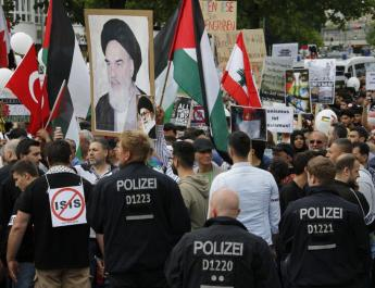 ifmat - German politicans want iran regime center ousted over antisemitism