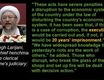 ifmat - Iranian Head of Judiciary threatens protesters to execution and imprisonment
