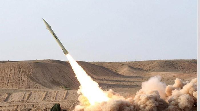 ifmat - Saudi air force intercepts missile from Iran backed Houthi