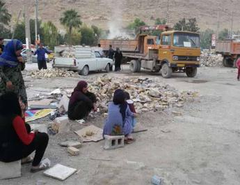 ifmat - Survivors of Iran earthquake are living without shelter for months