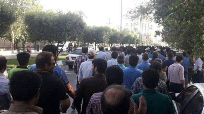ifmat - Two weeks strike by Steel workers in Iran