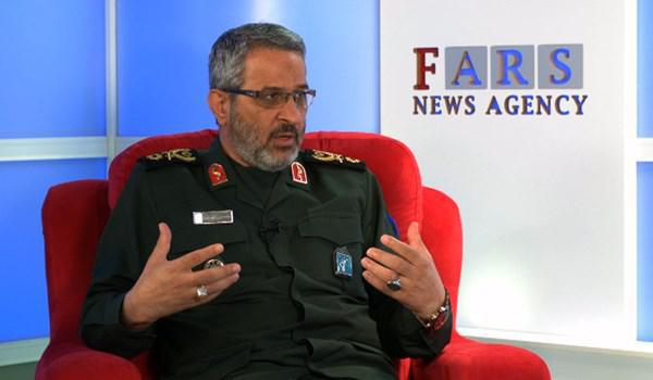 ifmat - Basij commander US not in position to threaten Iran