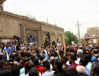 ifmat - Iran arrest 200 linked to protests against water shortage