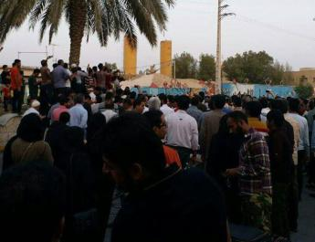 ifmat - More protests over water shortages break out in Iran