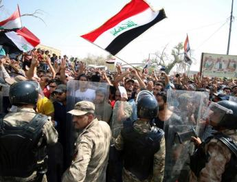 ifmat - Protests in Iraq against pro-Iran militias and parties