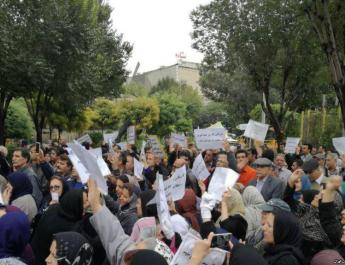 ifmat - Teachers in Iran protest low wages