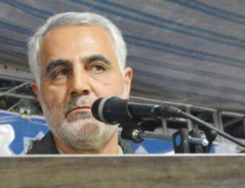 ifmat - Technical glitch stops Iran Quds Force chief addressing Gazans