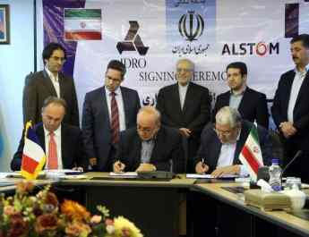 Alstom inks joint venture deal with Iran IDRO