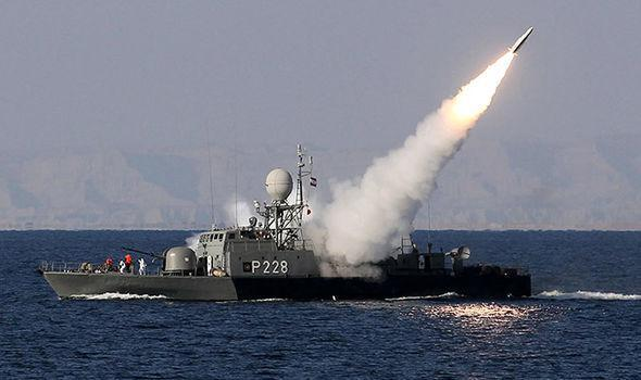 ifmat - Iran launched advanced weapons system in show of strength