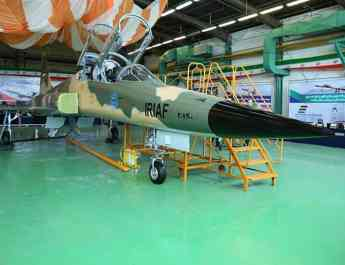 ifmat - Iran unveils new domestic fighter jet