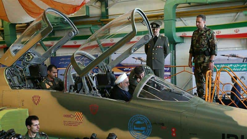 ifmat - Iran unveils new domestic fighter jet1