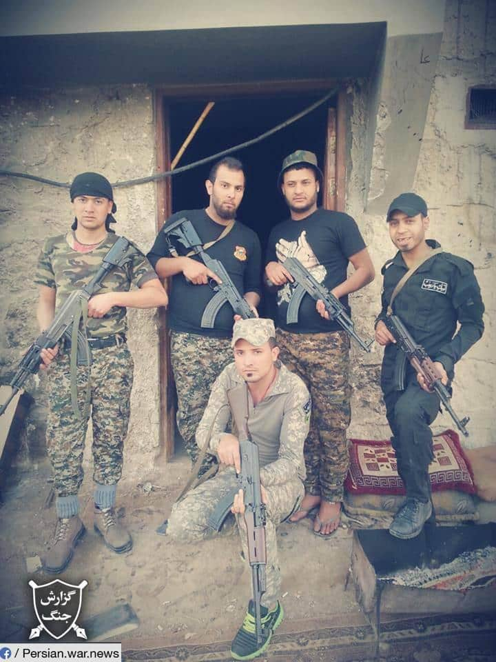 ifmat - Iraqi fighters are deployed to Syria from Iran6