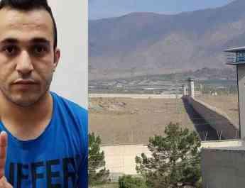 ifmat - Kurdish political prisoner sews lips together demanding basic rights