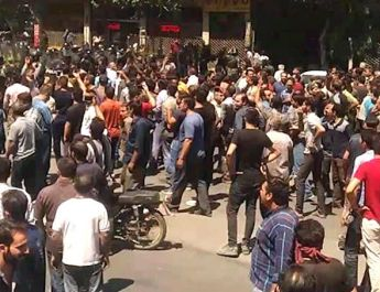 ifmat - Protests in Shapour, Isfahan and Central Iran continue over corruption and dire economy