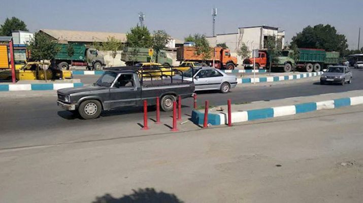 ifmat - The truckers strike in Iran continues