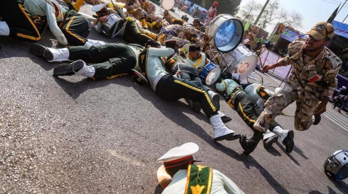 ifmat - Assault on Iranian military parade - false flag to divert attention