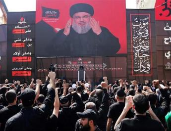 ifmat - Hezbollah rallies behind Iran ahead of new sanctions