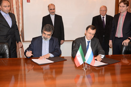 ifmat - Iran ROSATOM sign roadmap for nuclear cooperation