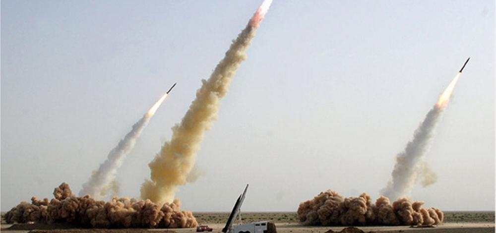 Iranian regime threatens with their ballistic missiles