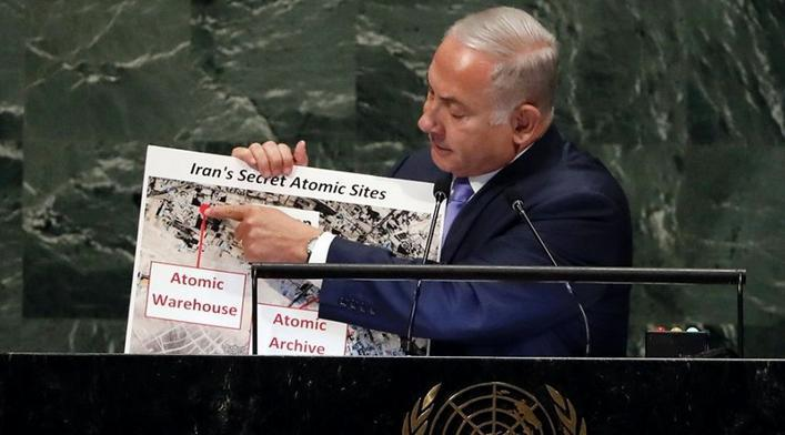 ifmat - Israeli Prime Minister reveals new secret Iran nuclear site