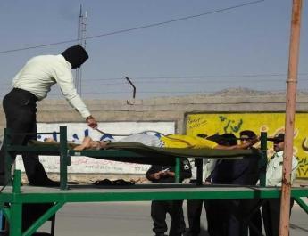 ifmat - Man publicly flogged in Neishabur Iran