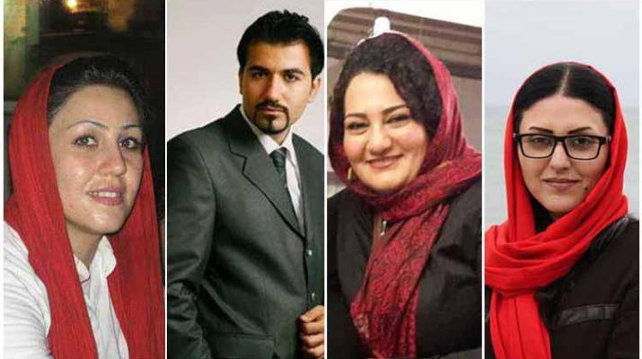 ifmat - Four Iranian political prisoners denied regular family visits