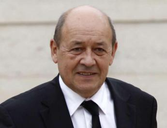 ifmat - French defence minister Iranian ballistic programme is a threat