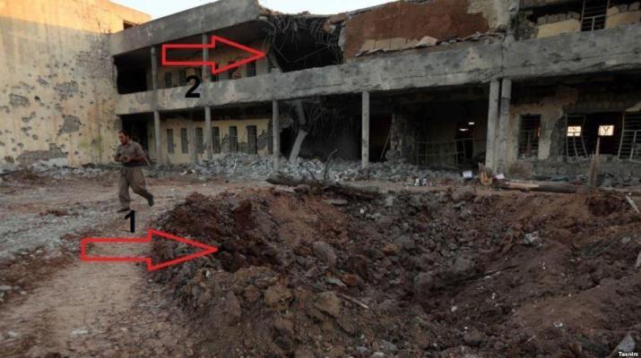 ifmat - Iran attacked Iranian kuridsh bash in Iraq