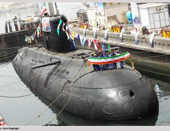 ifmat - Iran launches 2 advanced submarines