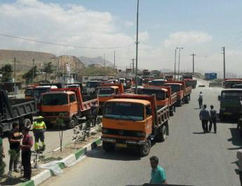 ifmat - Iran regime threatens striking truckers with execution