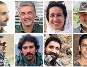 ifmat - Iranian environmentalists face false charges after months in prison