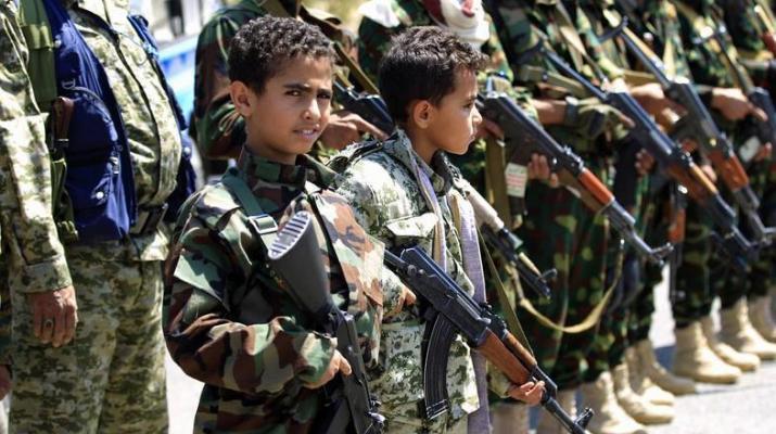 ifmat - Militias force Yemeni students to say pro-Iran chants at school