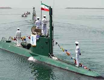 ifmat - Iran says it has added 2 mini submarines to its naval fleet