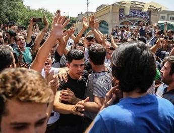 ifmat - Iranian regime is scared of the angry people