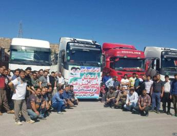 ifmat - Iranian truckers strike over arrests on drivers in earlier protests