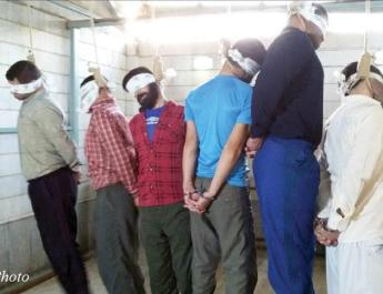 ifmat - Mass execution of prisoners in Gohardash prison