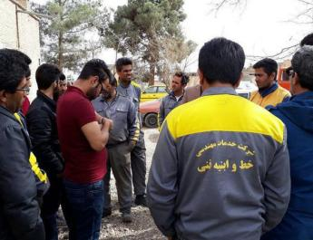 ifmat - Railway workers in Iran continue strike