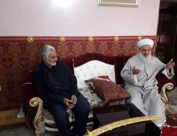 Qassem Soleimani visits Iraq to bring the country under Iranian influence