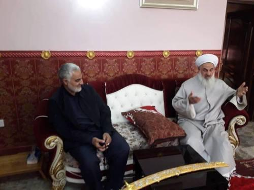 ifmat - Qassem Soleimani visitts Iraq to bring the country under Iranian influence