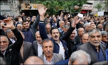 ifmat - Workers defy brutal Iran regime