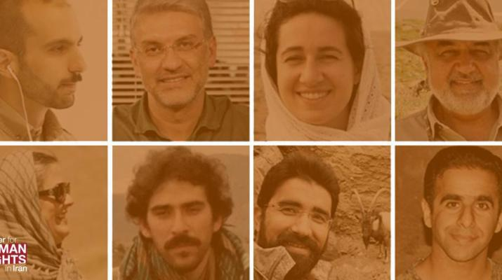 ifmat - Eight conservationists tried in Iran on basis of tetracted false Confessions