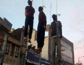 ifmat - Iran publicly executes three men for robbery
