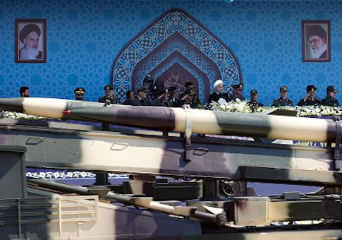 ifmat - Iran regime shows off new missile